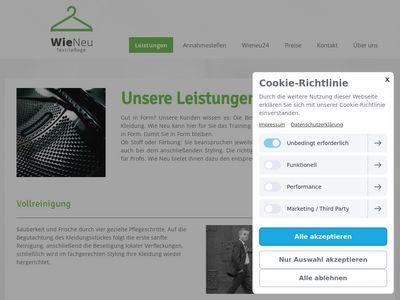 Wie Neu GmbH Textilreinigung