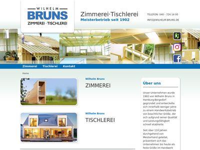 Wilhelm Bruns GmbH Zimmerei und Tischlerei
