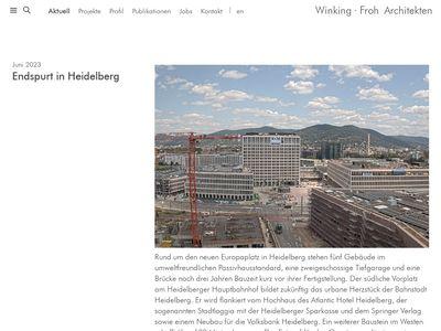 Winking - Froh Architekten GmbH