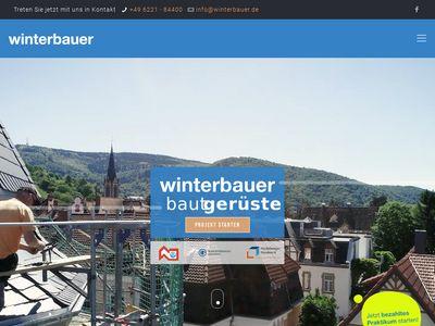 Winterbauer GmbH Bedachungen Gerüstbau