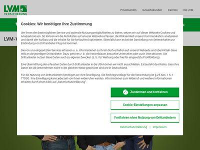 LVM Versicherungen Frank Wöhler