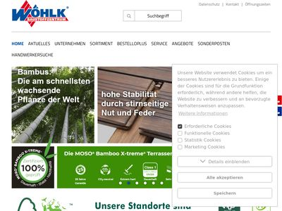 Baustoffzentrum Wöhlk GmbH NL Görlitz