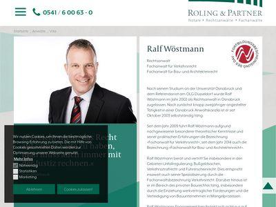 Achim Vossmeyer Rechtsanwalt und Notar