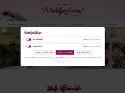 Wohlgeformt Dessous-Shop