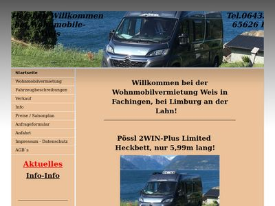 Wohnmobile Weis