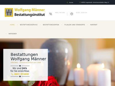 Bestattungsinstitut Wolfgang Männer e.K.