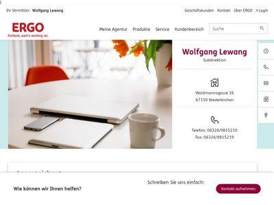 Viktoria Versicherungen Lewang, Wolfgang
