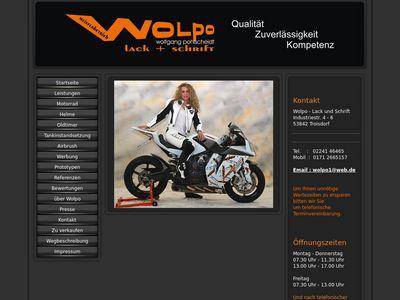 Wolpo - Lack und Schrift