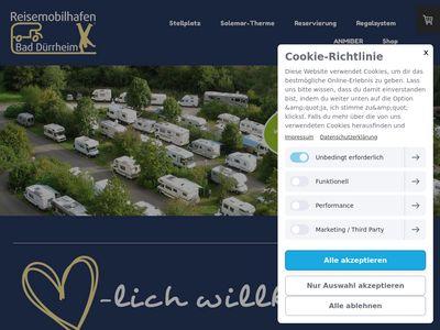 Michael Bertsch Reisemobil-Stellplatz