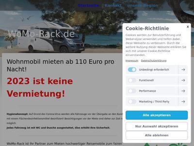 WoMo-Rack.de - Wohnmobile mieten