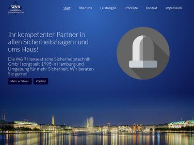 W & R Hanseatische Sicherheitstechnik GmbH