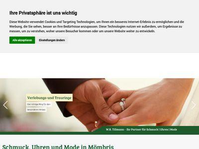 W.R.Tillmann Schmuck – Uhren – Mode
