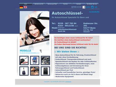 Autoschlüssel-Bonn