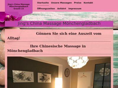 Jing's China Massage Mönchengladbach