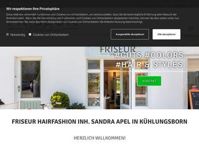 Friseur Hairfashion Inh. Sandra Apel