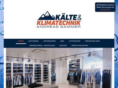 Kälte & Klimatechnik Andreas Sammer