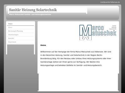 Marco Matuschek Heizung/Sanitär