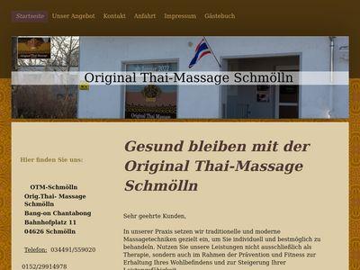Original Thai-Massage Bang on Chantabong