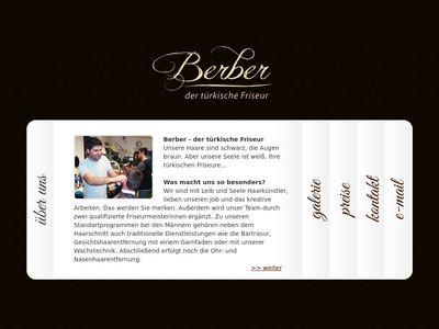 Berber der türkische Friseur