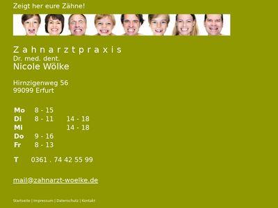 Zahnarztpraxis Dr. Nicole Wölke