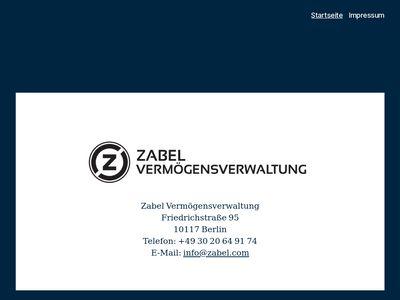 Zabel Property AG