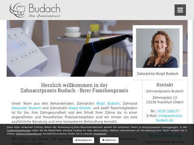 Budach Siegbert Dr. Zahnarztpraxis