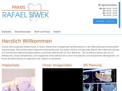 Zahnarzt Rafael Siwek