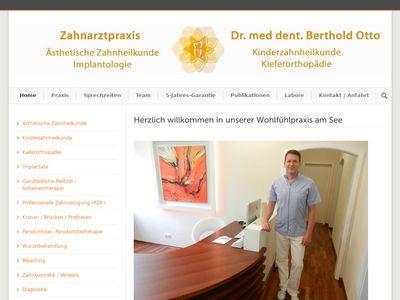 Dr.med.dent. Berthold Otto Zahnarzt