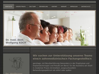 Dr. med. Wolfgang Koch dent
