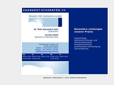 Zahnarztpraxis Dr. Viola Zahl und Carsten Mehl