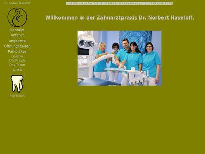 Haseloff Norbert Zahnarztpraxis