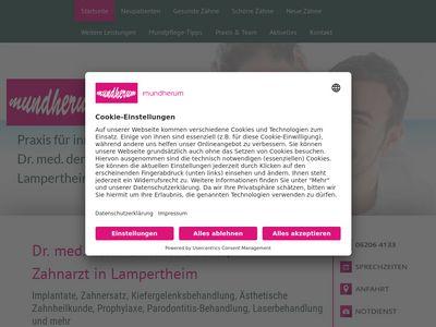 Dr.med.dent. Gunther Becker Zahnarzt
