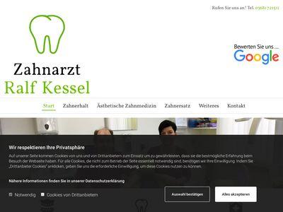 Zahnarzt Ralf Kessel