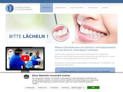 Dr.med.dent. Astrid Wagner Zahnärztin