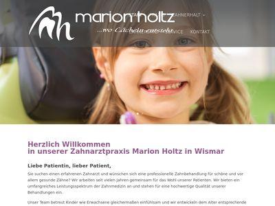 Marion Holtz Zahnärztin