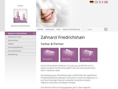 Zahnarztpraxis in Friedrichshain F. Yashar
