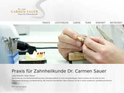 Sauer, Carmen Dr., Zahnarztpraxis