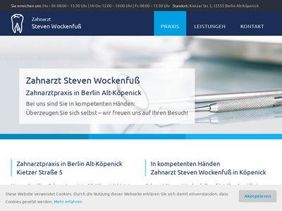 Wockenfuss Petra Dr., Steven Zahnarztpraxis