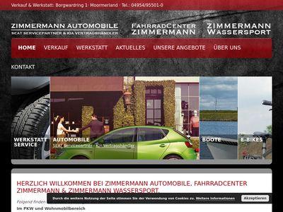 Zimmermann Automobile, Verkauf