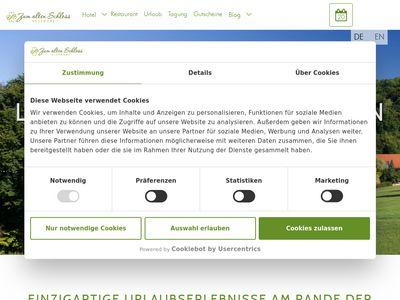 """Gasthof """"Zum Alten Schloss"""