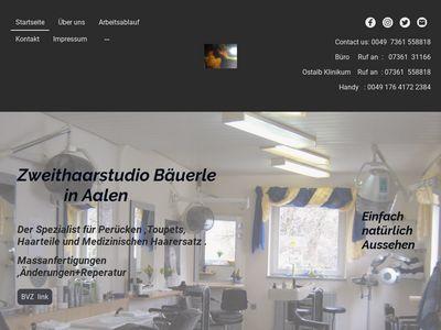 Bäuerle Zweithaarstudio Ostalbklinikum)