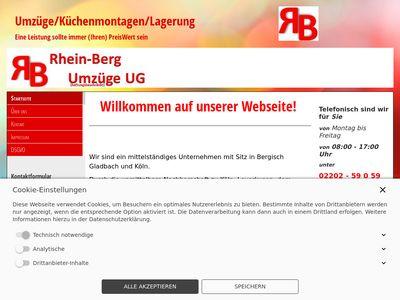 RB Rhein-Berg Umzüge