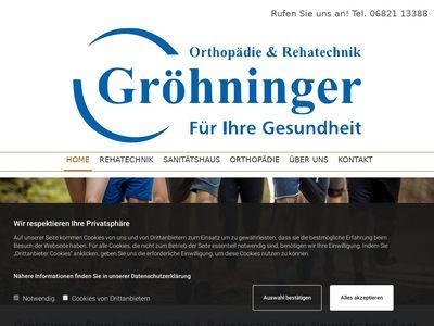 Orthopädie And Rehatechnik Gröhninger