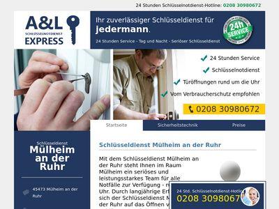 Schlüsseldienst Mülheim an der Ruhr