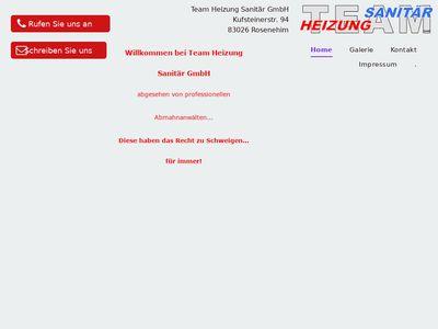Team Heizung Sanitär GmbH
