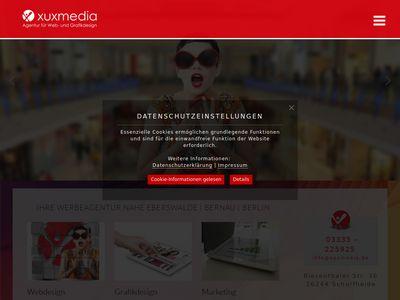 Xuxmedia - Agentur für Web- und Grafikdesign