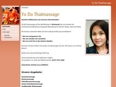 YA DA Thaimassage