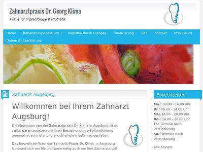 Dr. med. dent. Georg Klima