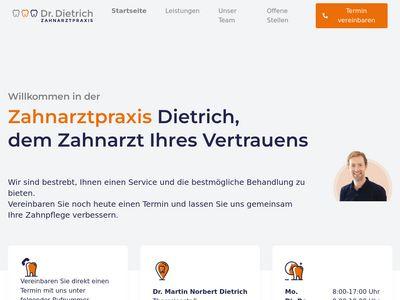 Dietrich Martin N. Dr. Zahnarzt