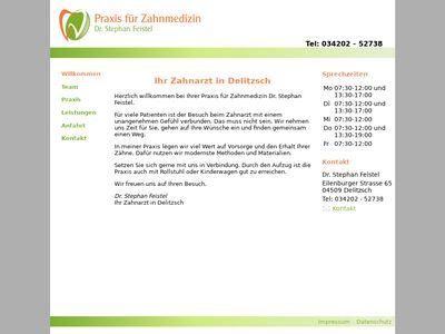 Zahnarzt Dr. Stephan Feistel